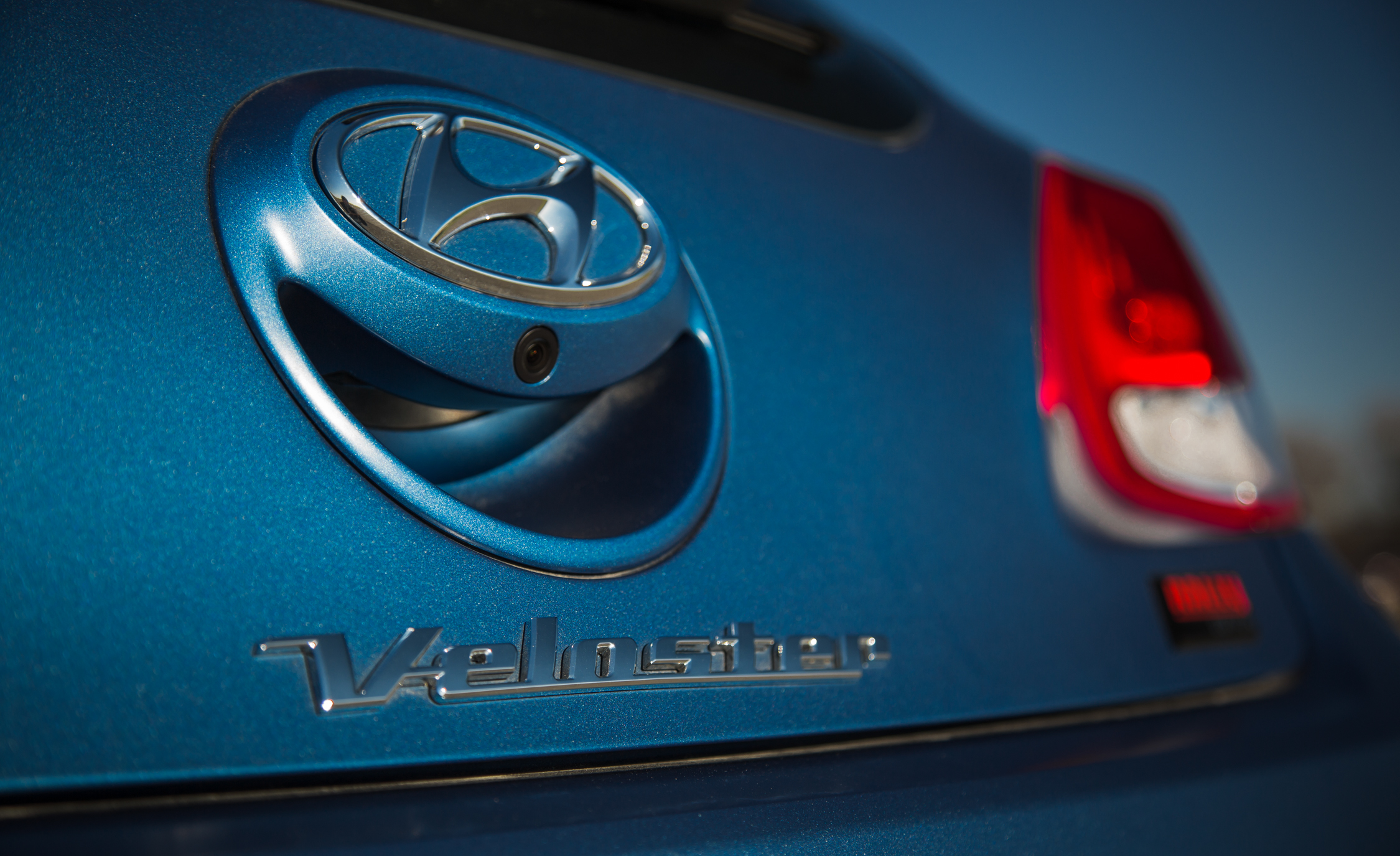 2016 Hyundai Veloster Turbo Rally Edition Exterior Badge Rear