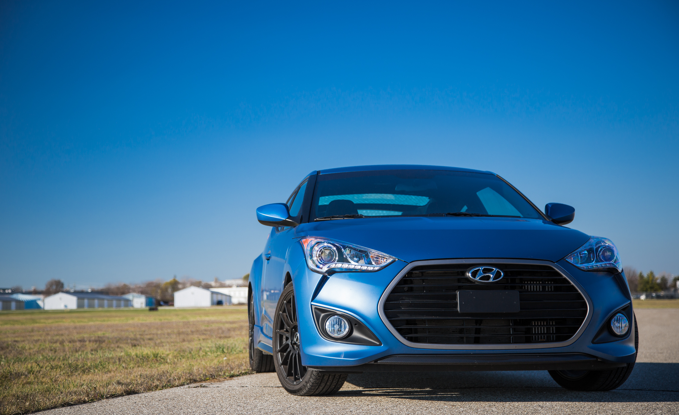 2016 Hyundai Veloster Turbo Rally Edition Exterior Full Front