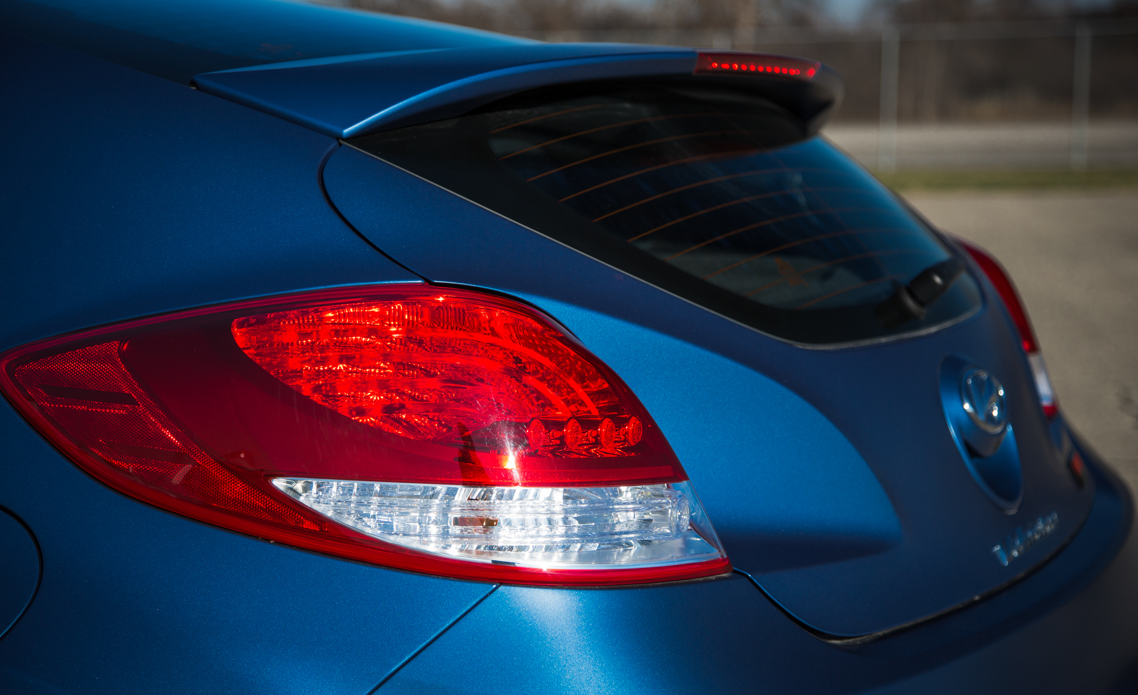 2016 Hyundai Veloster Turbo Rally Edition Exterior Taillight Rear Left