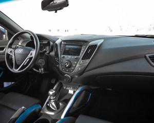 2016 Hyundai Veloster Turbo Rally Edition Interior Dashboard