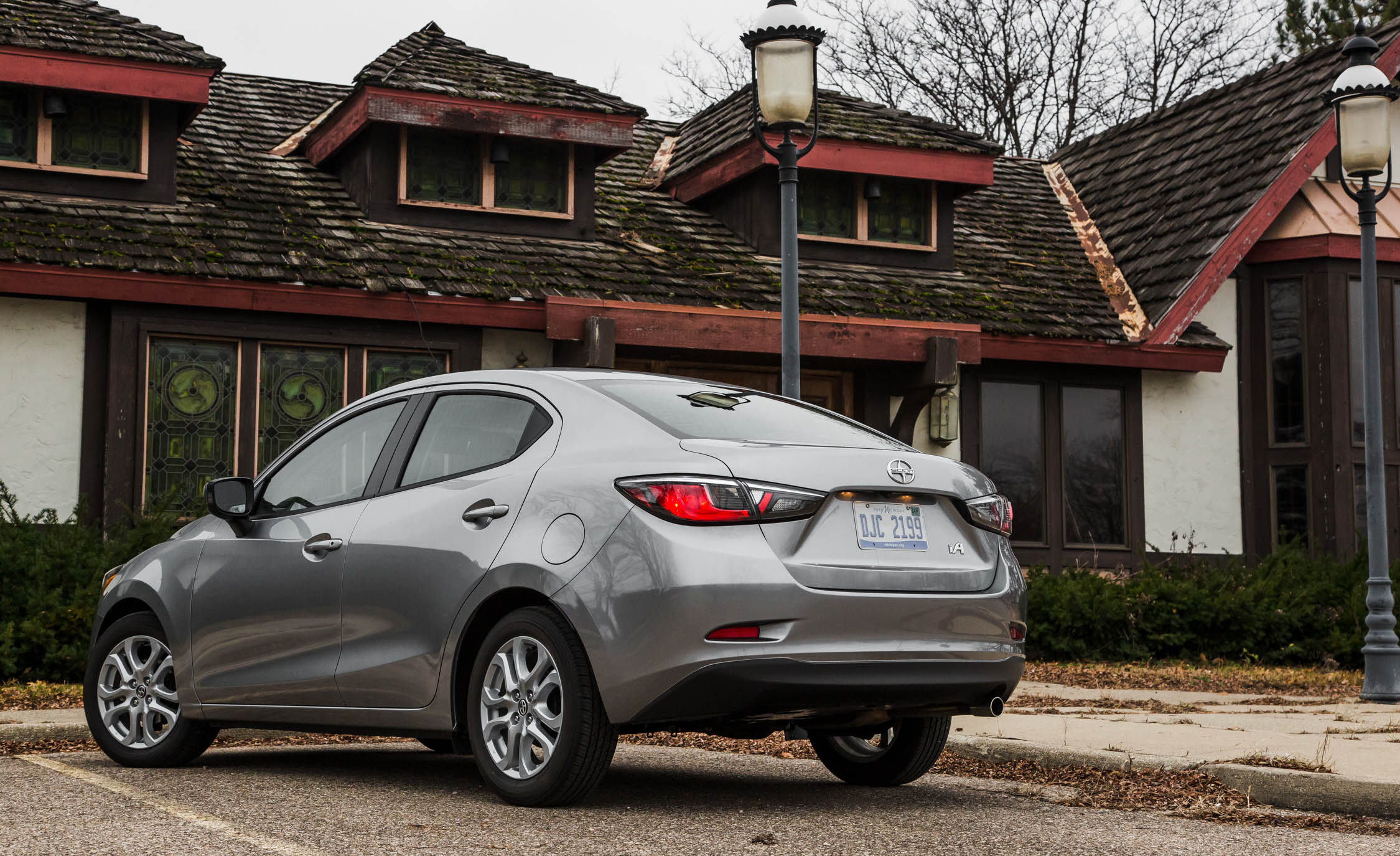 2016 Scion iA Exterior Full Rear and Side