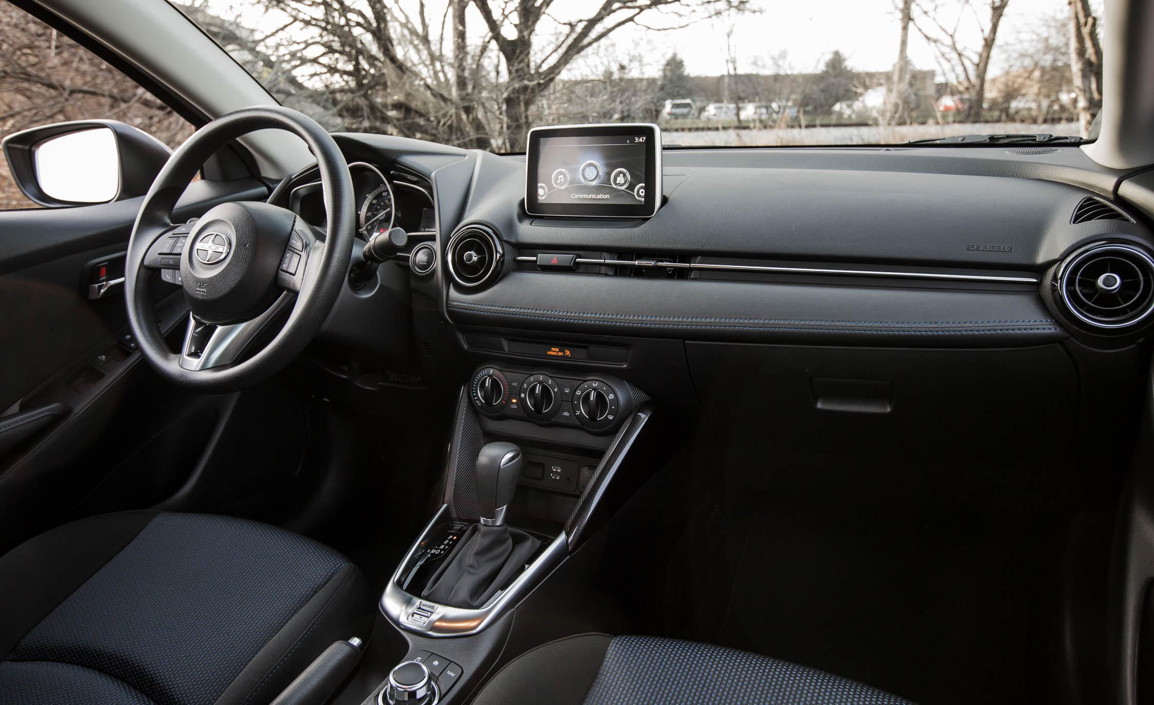 2016 Scion iA Interior Front