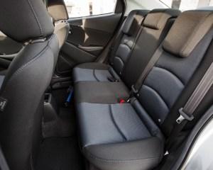 2016 Scion iA Interior Seats Rear