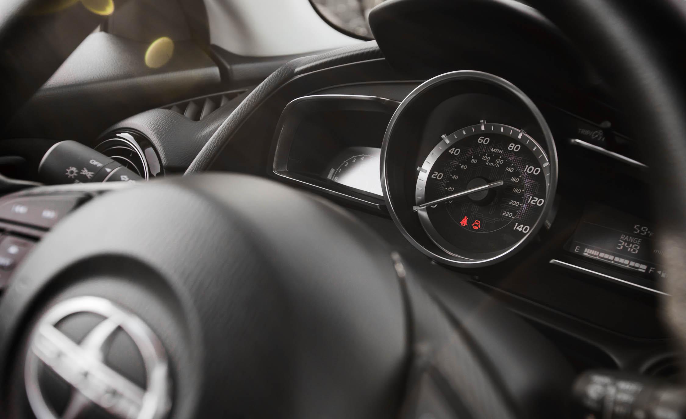 2016 Scion iA Interior Speedometer