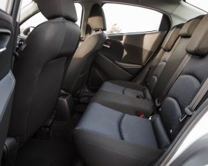 2016 Scion iA Interior View Rear