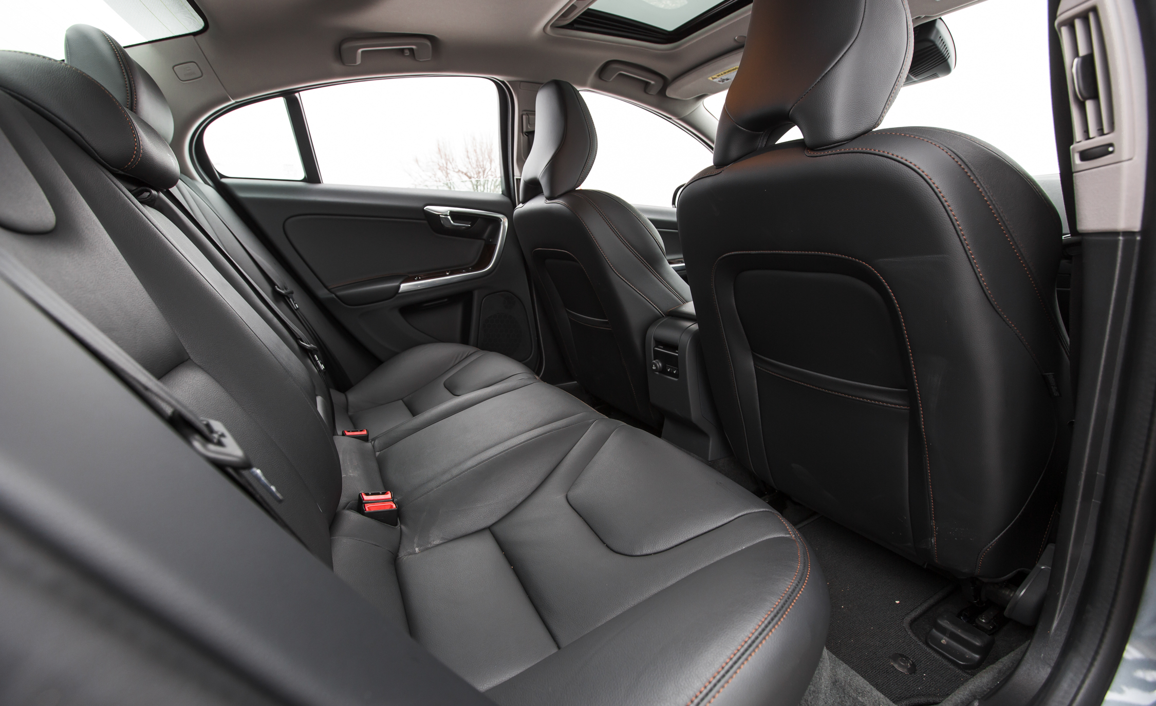 2016 Volvo S60 Cross Country Interior Rear