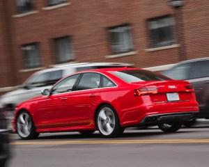 2016 Audi S6 Test Rear Side View
