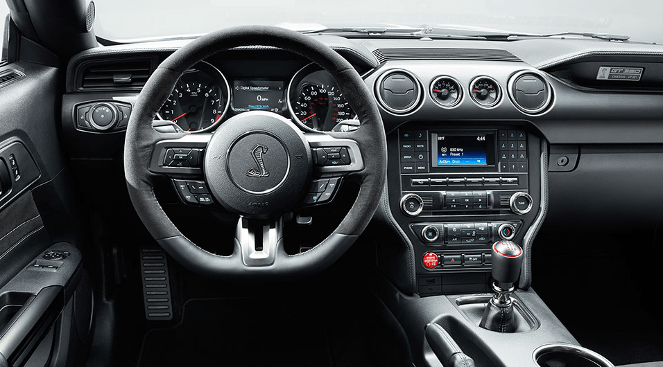 2017 Ford Mustang Shelby GT350 Steering View