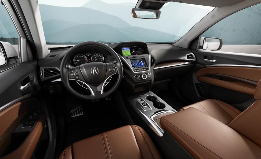 2017 Acura MDX Dashboard View