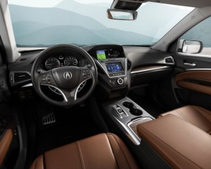 2017 Acura MDX Dashboard View