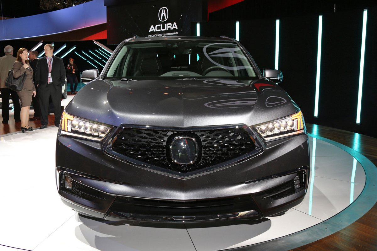 2017 Acura MDX Front View