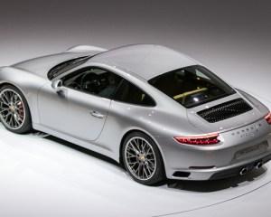 2017 Porsche 911 Carrera Above View