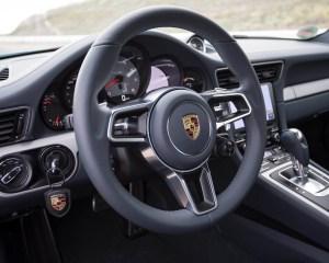 2017 Porsche 911 Carrera Steering View