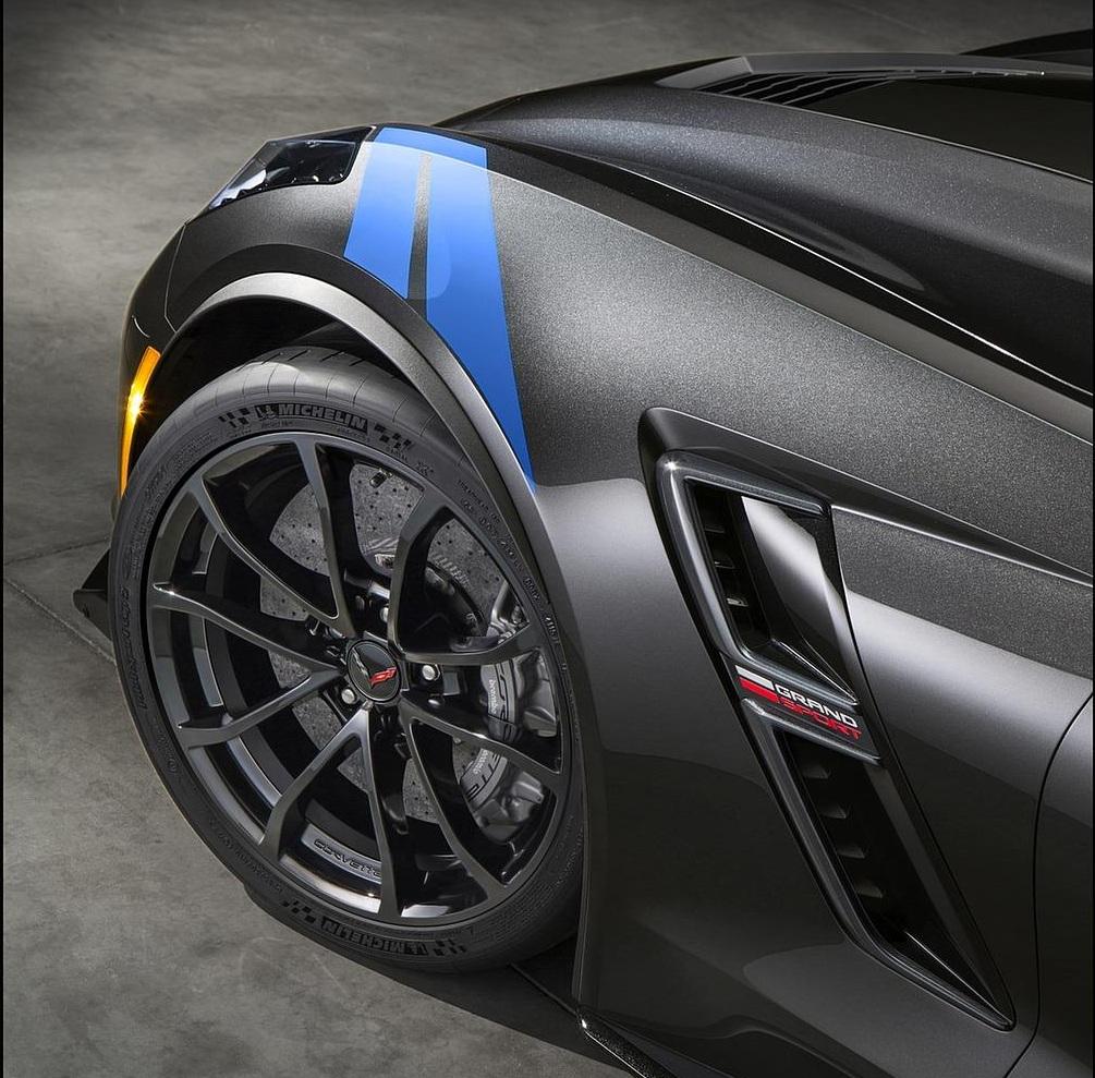 2017 Chevrolet Corvette Grand Sport Wheel View