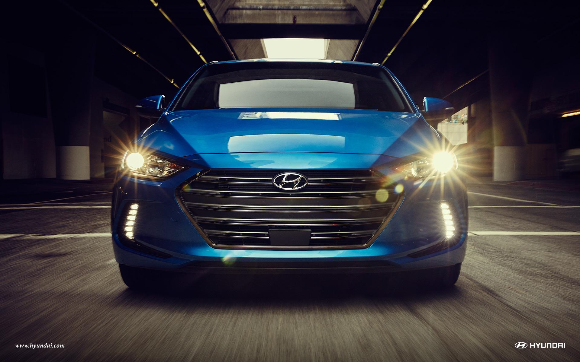 2017 Hyundai Elantra Front View