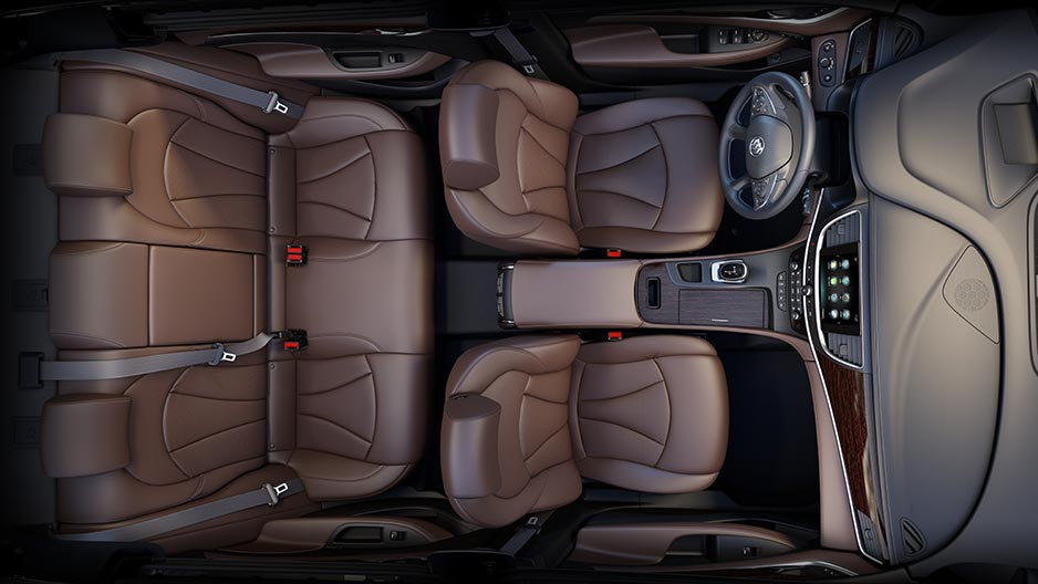 2017 Buick Lacrosse Interior View