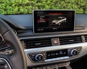 2017 Audi A4 Dashboard View