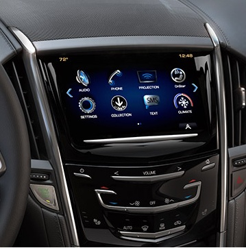 2017 Cadillac ATS V Media System View