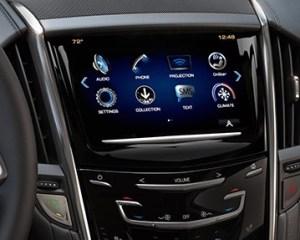 2017 Cadillac ATS V Media System View