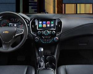 2017 Chevrolet Cruze Steering View