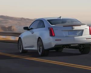 2017 Cadillac ATS-V Rear View