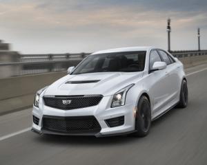 2017 Cadillac ATS V Front View