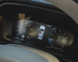 2017 Vovlo s90 Dashboard View