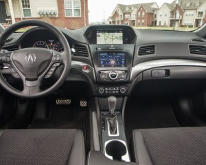 2017 Acura ILX Steering View
