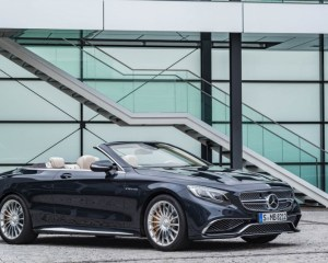 2017 Mercedes AMG S63 Cabriolet Side View