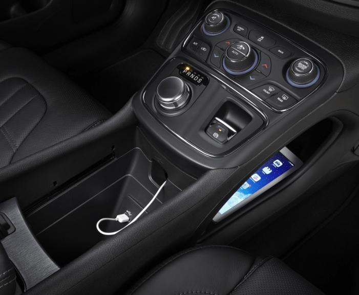 2017 Chrysler 200 Interior View