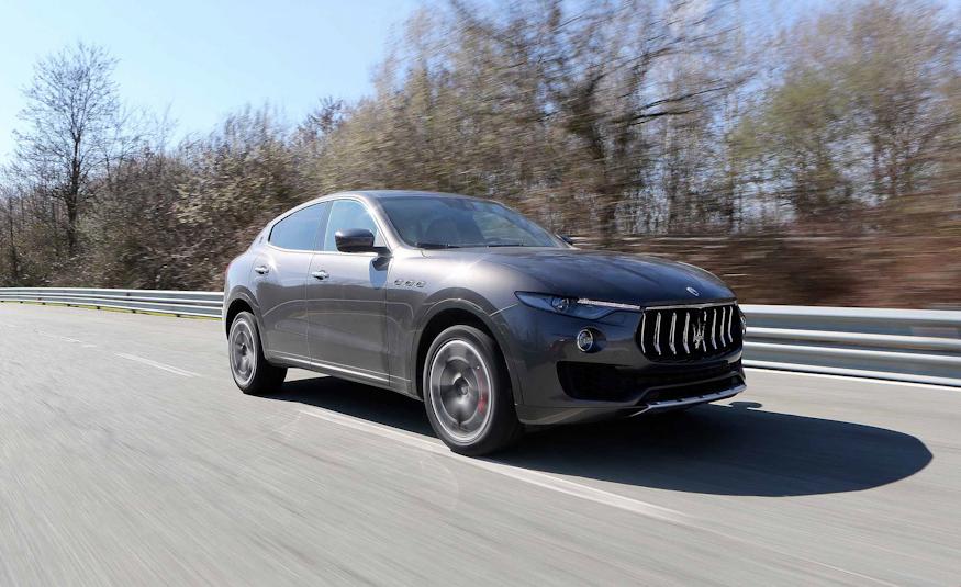 2017 Maserati Levante Front Side View