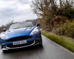 2017 Aston Martin Vanquish S Front View