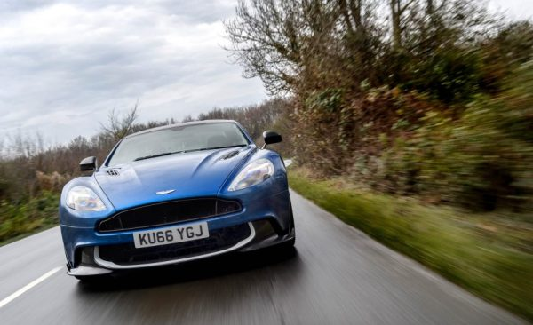 2017 Aston Martin Vanquish S Front