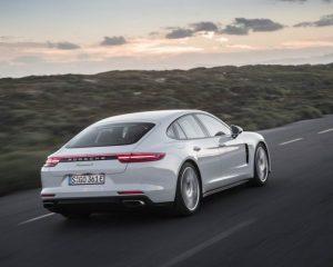 2018 Porsche Panamera 4 E Hybrid Rear View