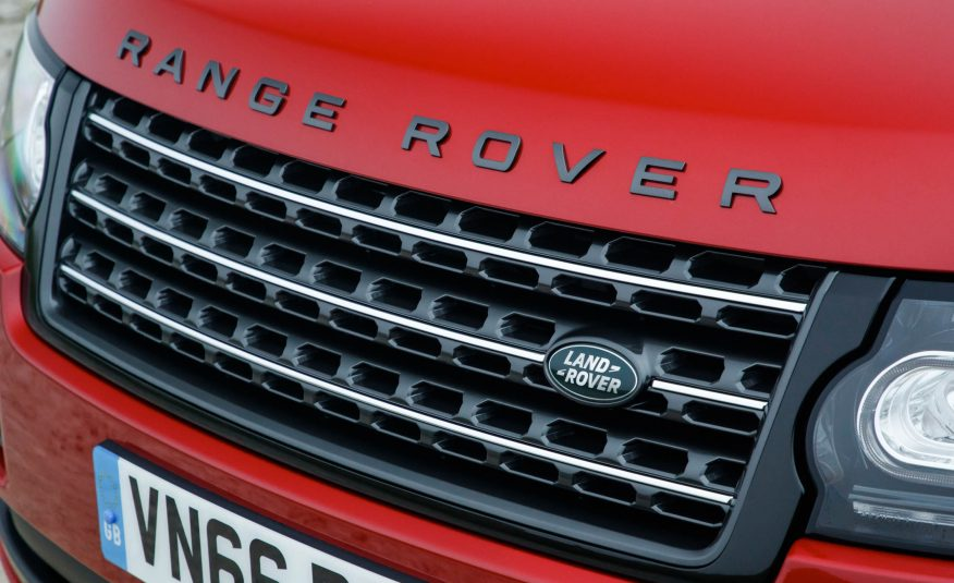 2017 Range Rover SVAutobiography Grille View