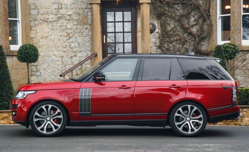 2017 Range Rover SVAutobiography Side View
