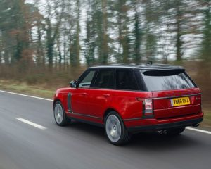 2017 Range Rover SVAutobiography Rear View