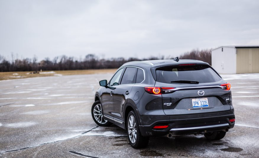 2017 Mazda CX-9 Rear View