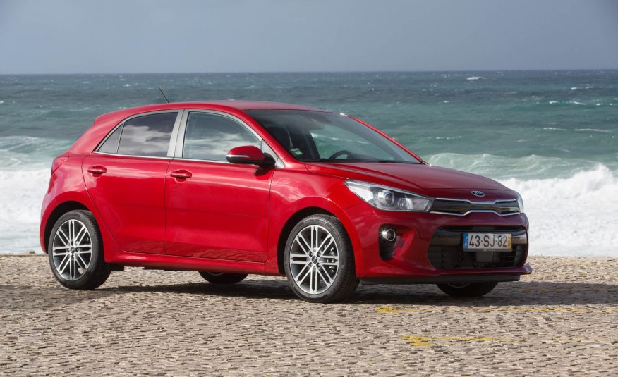 2018 Kia Rio Side View