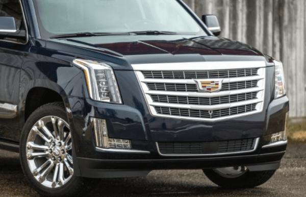 2017 Cadillac Escalade Grille