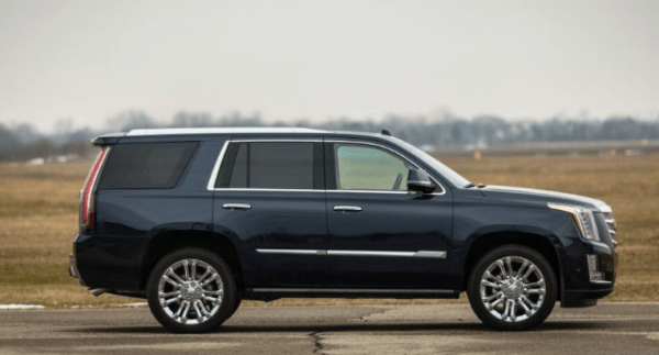 2017 Cadillac Escalade side