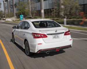 2017 Nissan Sentra Nismo Rear View