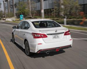 2017 Nissan Sentra Nismo Rear View