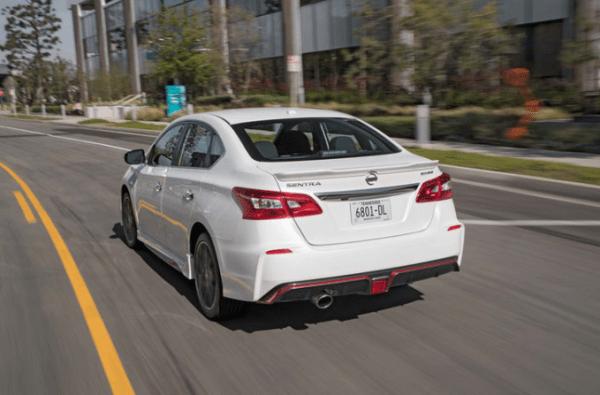 2017 Nissan Sentra NISMO rear review
