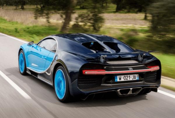 2017 Bugatti Chiron back