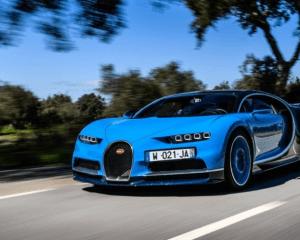 2017 Bugatti Chiron Front View