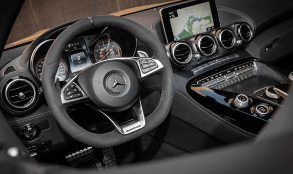 2018 Mercedes AMG GT C Steering Wheel Review