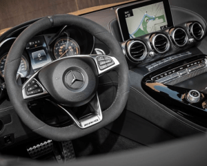 2018 Mercedes AMG GT C Steering Wheel View