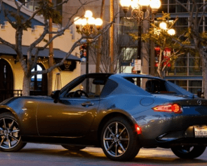 2017 Mazda MX-5 Miata Side View