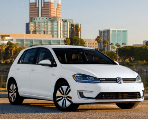 2017 Volkswagen e-Golf Front Side View